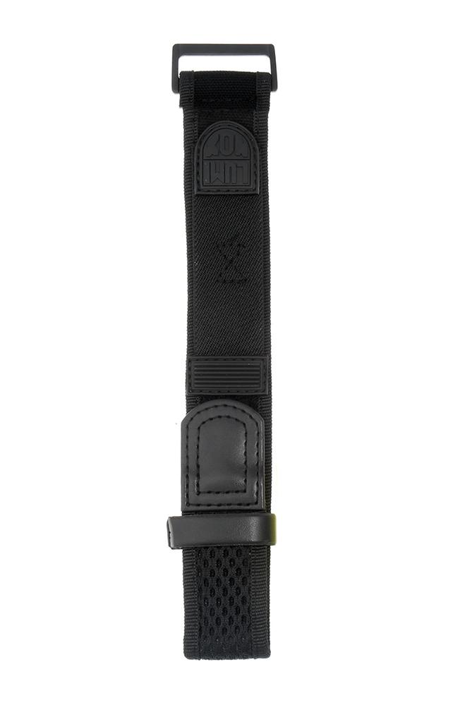 Strap LNS ALL BLACK ブラック ナイロン22mm幅用