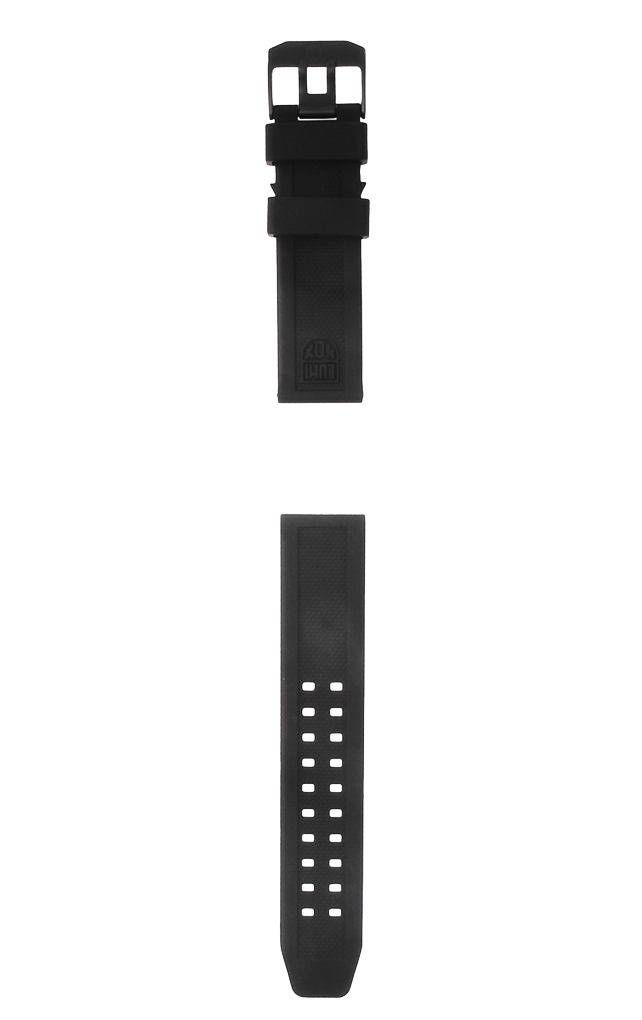 Strap Rubber-07(ブラックバックル) 23mm幅用