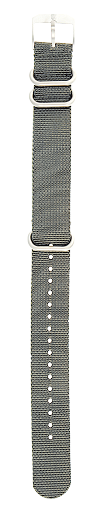 NATO Strap Grey グレー ナイロン 22mm幅用
