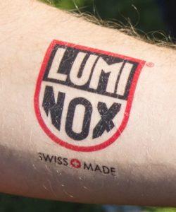 Luminox ロゴ ボディシール